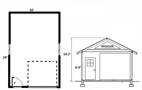 16x24 Garage Plans Pictures To Pin On Pinterest Pinsdaddy